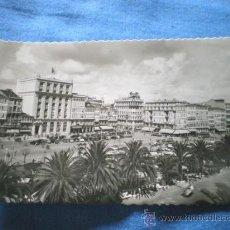 Postales: POSTAL LA CORUÑA CANTONES DE JOSE ANTONIO Y AVENIDA DE LA MARINA NO CIRCULADA. Lote 15833376