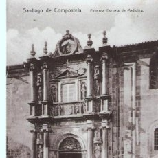 Postales: POSTAL DE SANTIAGO DE COMPOSTELA - ESCRITA. Lote 23795226