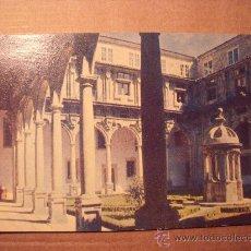 Postales: POSTAL PATIO DE SAN LUCAS, HOSTAL DE LOS REYES CATÓLICOS SANTIAGO DE COMPOSTELA 1959 P-1514. Lote 16043720