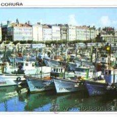 Postales: LA CORUÑA - DARSENA. Lote 16200406