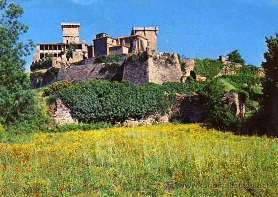 POSTAL VERIN ORENSE CASTILLO DE MONTERREY (Postales - España - Galicia Moderna (desde 1940))