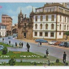 Postales: TARJETA POSTAL CALLE Y PUERTA DE SAN FERNANDO IGLESIA DE SAN FROILAN LUGO. Lote 16419609