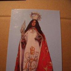 Postales: POSTAL DE LA IMAGEN DE SANTA TECLA VIRGEN Y MARTIR. LA GUARDIA, PONTEVEDRA. SIN CIRCULAR. . Lote 16448879
