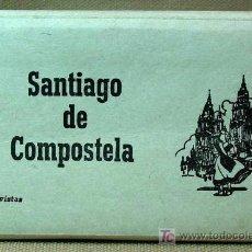 Postales: MARAVILLOSO ACORDEON DE POSTALES, SANTIAGO DE COMPOSTELA, EDICIONES ARTIGOT, ZARAGOZA, 16 VISTAS. Lote 16660217
