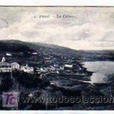 Postales: LA CORUÑA. FERROL . LA CABANA. PAPELERÍA DEL CORREO GALLEGO. CIRCULADA.. Lote 16652276