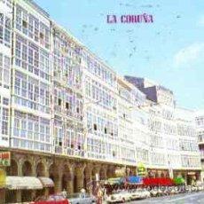 Postales: LA CORUÑA - AVENIDA DE LA MARINA. Lote 16790088
