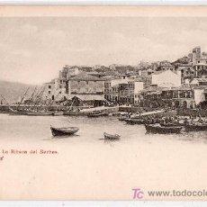 Postales: TARJETA POSTAL DE VIGO, PONTEVEDRA. LA RIBERA DEL BERBES. Lote 23652017