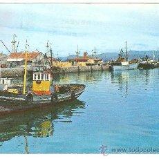 Postales: VILLAGARCIA DE AROSA. PONTEVEDRA. GALICIA. BARCOS. PUERTO. Lote 27633089