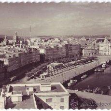 Postales: LA CORUÑA: PASEO DE LA MARINA. ED. LUJO. NO CIRCULADA (AÑOS 50). Lote 22899195