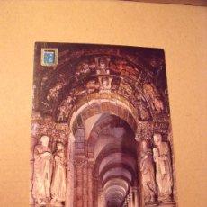 Postales: POSTAL DE SANTIAGO DE COMPOSTELA Nº32 CATEDRAL DETALLE DEL PÓRTICO DE LA GLORIA SIN CIRCULAR P-1445. Lote 16874376