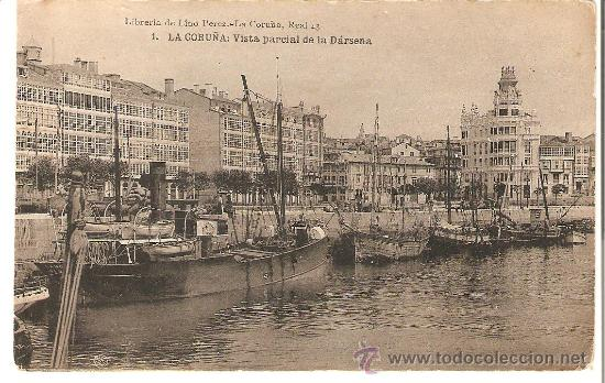 Fotos antiguas puerto de la corua