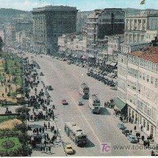 Cartes Postales: LA CORUÑA - VISTA DE LOS CANTONES Y JARDINES DE MENDEZ NUÑEZ - EXCMO. AYUNTAMIENTO - 1965 -. Lote 22412296