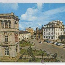 Postales: TARJETA POSTAL PLAZA DE EL FERROL DEL CAUDILLO LUGO. Lote 17439512