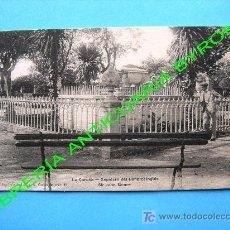 Postales: POSTAL ANTIGUA. LA CORUÑA. SEPULCRO DEL GENERAL INGLÉS SIR JOHN MOORE. PAPELERÍA DE LA FUENTE. Lote 17498564