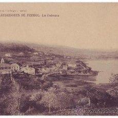 Postales: FERROL (CORUÑA): ALREDEDORES DE FERROL LA CABANA. EL CORREO GALLEGO. NO CIRCULADA (AÑOS 10-20). Lote 24739417