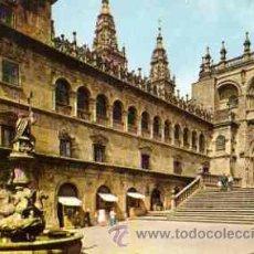 Postales: SANTIAGO DE COMPOSTELA - PLAZA DE LAS PLATERIAS. Lote 17609873