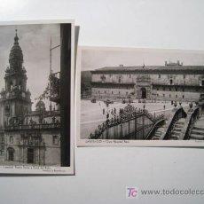 Postales: SANTIAGO COMPOSTELA - LOTE 2 POSTALES. Lote 17639382