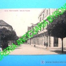 Postales: POSTAL ANTIGUA. PONTEVEDRA. CALLE DEL PROGRESO. EDICIÓN VIÑAS Nº 15. Lote 17998640