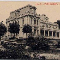 Postales: PONTEVEDRA.-CHALET DE BESADA. Lote 18128779
