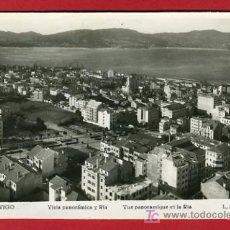 Postales: VIGO, PONTEVEDRA, VISTA PANORAMICA Y RIA, P36414. Lote 18329444