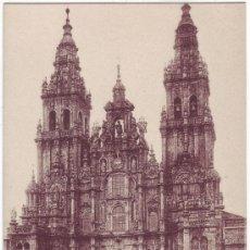 Postales: SANTIAGO DE COMPOSTELA: CATEDRAL. FACHADA DEL OBRADOIRO. KALLMEYER Y GAUTIER. NO CIRCULADA (AÑOS 20). Lote 23953436
