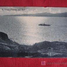 Postales: VIGO - PUESTA DE SOL. Lote 18842411