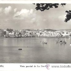 Postales: PS1209 LA CORUÑA 'VISTA PARCIAL DE LA CORUÑA'. FOT. R. GASSÓ. CIRCULADA 1954. Lote 18816409