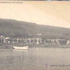 Postales: CORCUBIÓN(LA CORUÑA).-CARRETERA.-HAUSER Y MENET. Lote 18886932