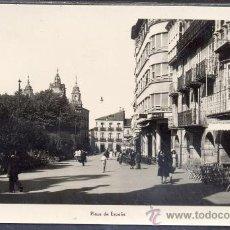 Postales: TARJETA POSTAL PLAZA DE ESPAÑA LUGO. Lote 19104646