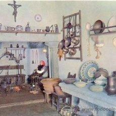 Postales: TARJETA POSTAL MUSEO COCINA TIPICA LUGO. Lote 19104702