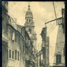 Postales: TARJETA POSTAL DE SANTIAGO DE COMPOSTELA, LA CORUÑA.RUA DEL VILLAR. Nº 1.780 HAUSER Y MENET. Lote 19408312
