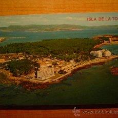 Postales: POSTAL ISLA DE LA TOJA VISTA AEREA SIN CIRCULAR. Lote 19549150