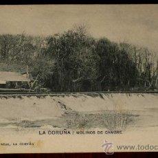Postales: ANTIGUA POSTAL DE LA CORUÑA, MOLINOS DE CAMBRE. PAPELERIA DE E. REAL - 9 SERIE B - SIN CIRCULAR Y SI. Lote 19578899