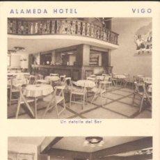 Postales: VIGO (PONTEVEDRA).- ALAMEDA HOTEL.-. Lote 19819124