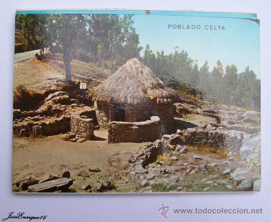 9 FOTOS COLOR, MONTE SANTA TECLA. ESPAÑA Y PORTUGAL - LA GUARDIA PONTEVEDRA - RIO MIÑO (Postales - España - Galicia Moderna (desde 1940))