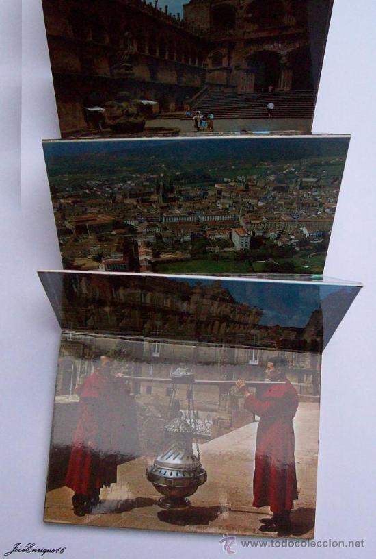 Postales: 18 POSTALES COLOR, SANTIAGO DE COMPOSTELA. POSTCARDS. 18 cartes postales en couleurs - Foto 4 - 25116363