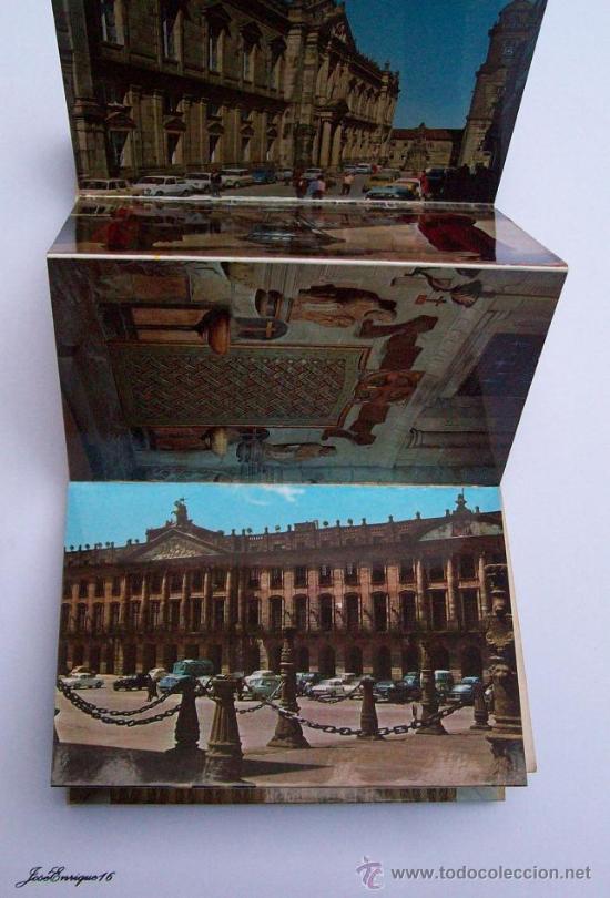 Postales: 18 POSTALES COLOR, SANTIAGO DE COMPOSTELA. POSTCARDS. 18 cartes postales en couleurs - Foto 5 - 25116363