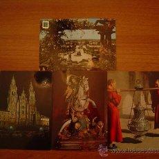 Postales: 4 POSTALES SANTIAGO DE COMPOSTELA. Lote 20238938
