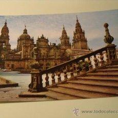 Postales: POSTAL SANTIAGO DE COMPOSTELA. CATEDRAL. SIN CIRCULAR. POSTAL 389 . Lote 20332641