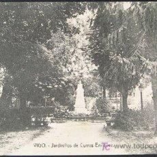 Postales: POSTAL VIGO JARDINILLOS DE CURROS ENRIQUEZ . CA AÑO 1910.. Lote 27547924