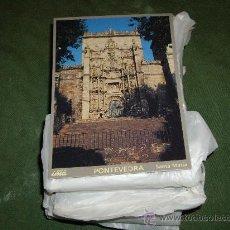 Postales: LOTE DE 200 POSTALES DE PONTEVEDRA- SANTA MARIA. Lote 27246352