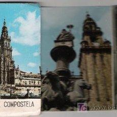 Postales: SANTIAGO DE COMPOSTELA, CARTERA CON 8 VISTAS (10X7).. Lote 21046680