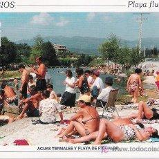 Postales: LOBIOS.- BAÑOS DE RIOCALDO.. Lote 21158539