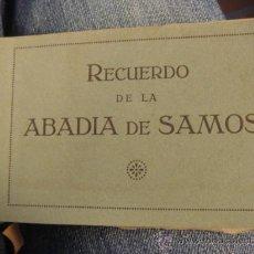 Postales: POSTALES DE ABADIA DE SAMOS- LUGO- 8 POSTALES. Lote 26492737