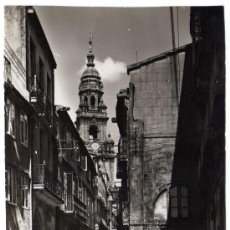Cartoline: BONITA POSTAL - SANTIAGO DE COMPOSTELA (LA CORUÑA) - RUA (CALLE) DEL VILLAR . Lote 23130675