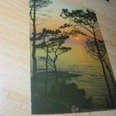 Postales: 10 POSTALES IGUALES PUESTA DE SOL -FAMA VIGO Nº3634 APROX 1980 S/C PERFECTAS LIQUIDACION . Lote 21643161