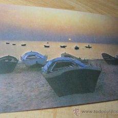 Postales: 10 POSTALES IGUALES PUESTA DE SOL -FAMA VIGO Nº3532 APROX 1980 S/C PERFECTAS LIQUIDACION . Lote 21643168