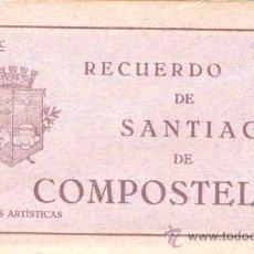 Postales: RECUERDO DE SANTIAGO DE COMPOSTELA.- 20 VISTAS ARTÍSTICAS.- SERIE C. Lote 21650586