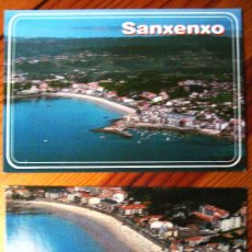Postales: LOTE DE 2 POSTALES DE SANXENXO (PONTEVEDRA.- GALICIA). Lote 21761496