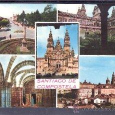 Postales: RECUERDO DE SANTIAGO DE COMPOSTELA. Lote 22147461